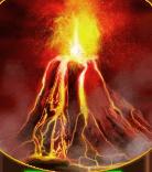 Vulkan (Scatter und Wild)