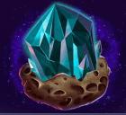 Diamant und Blume