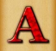 Die Kartensymbole A und K