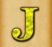 Die Kartensymbole J und Q