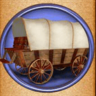 Der Waggon und der Planwagen