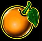 Orange und Pflaume