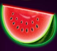 Die saftige Wassermelone