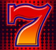Die rote 7 mit dem Wild-Symbol