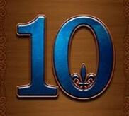 10, J, Q