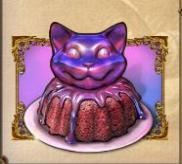 The Cheshire Cat Cake