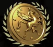 Die Münze des Pegasos