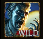 Mensch mit Werwolfklauen