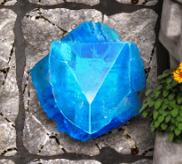 Blauer Edelstein