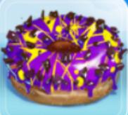 Lila Donut