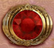 Die rote Brosche