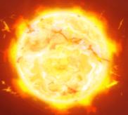 Tobende Sonne