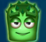 Grünes Zweiauge