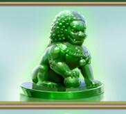 Der Jade-Löwe