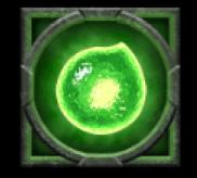 Rabenkugel grün