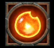 Rabenkugel orange