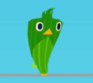 Grüner Vogel