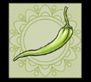 Grüne Chilischote