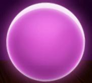 Violette Sonnenkugel