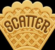 Scatter-Waffel