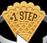 Step-Waffel