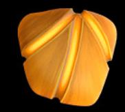 Oranger Stein