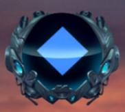 Blaue Rune