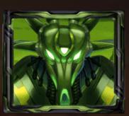 Grüner Alien