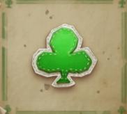 Grünes Kreuz-Symbol