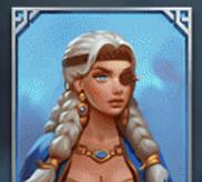 Blaue Kriegerin
