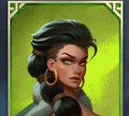 Grüne Kriegerin