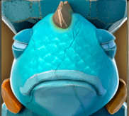 Blaue Schildkröte