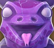 Violette Echse