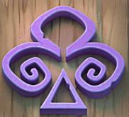 Violettes Kreuz