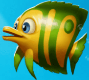 Gelbgrüner Fisch