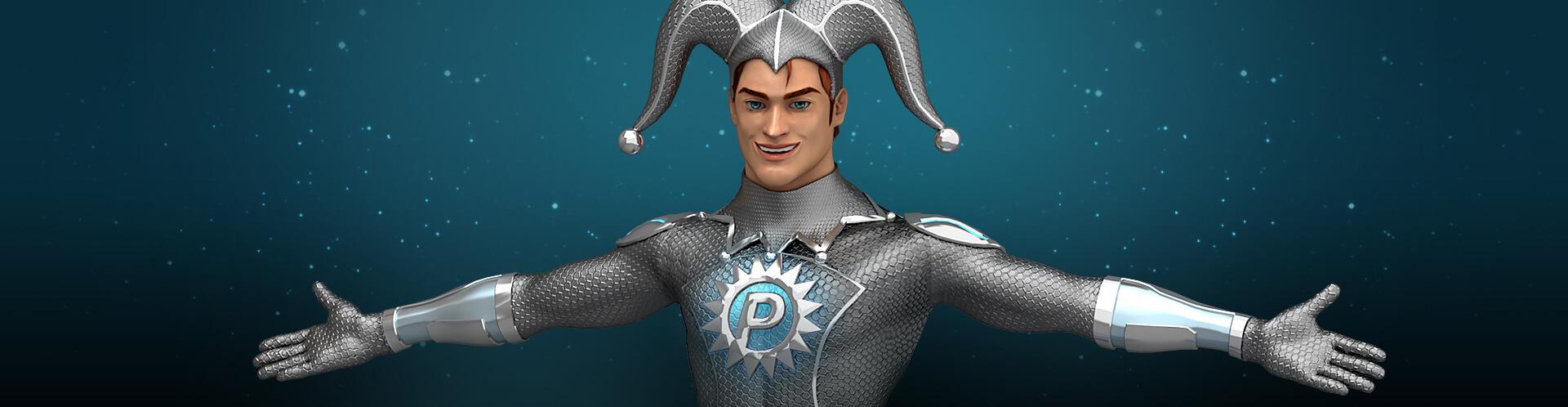 Platincasino Mascot Cover