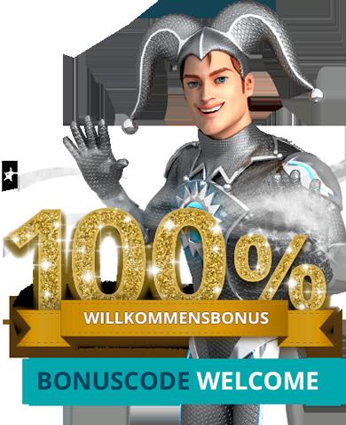 100% Welcome Bonus