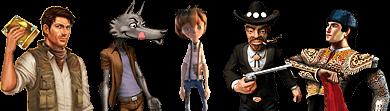 Slots Characters